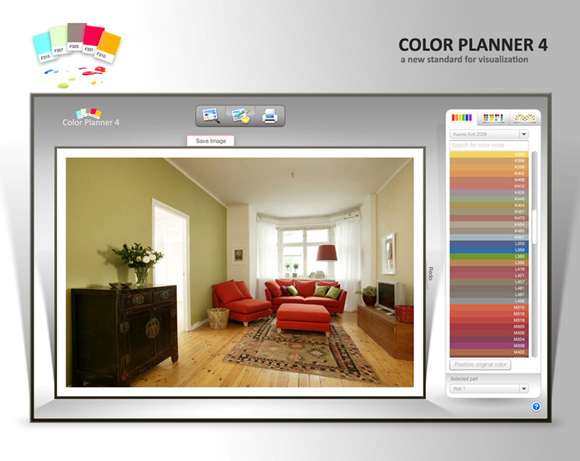 Color planner 4 for Programa para decorar interiores